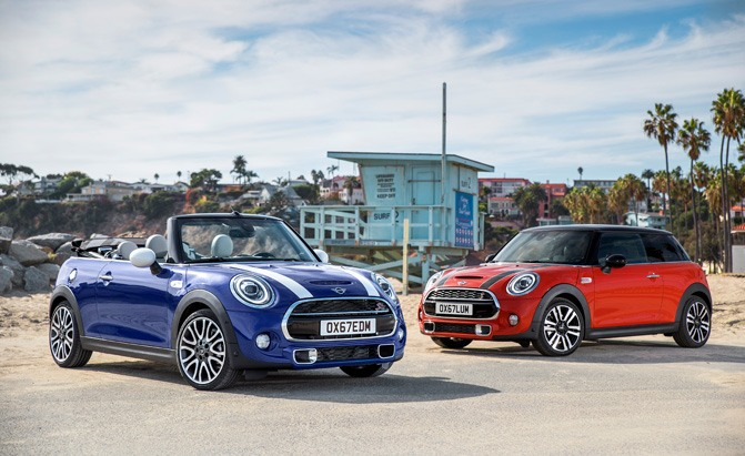 2019 mini cooper s 3 door and cabrio