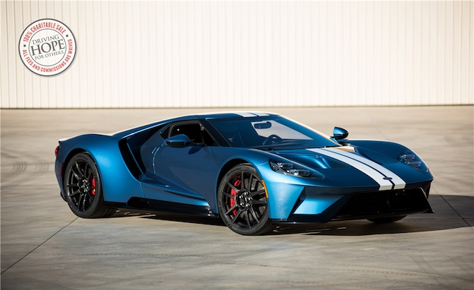 Ford GT Pulls in an Incredible $2.5M at Arizona Auction » AutoGuide ...