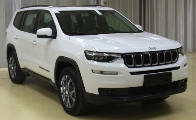 Amazing Photos Of 3 Row Jeep Grand Commander Leak