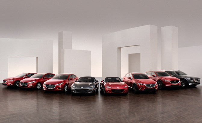 mazda vehicle lineup