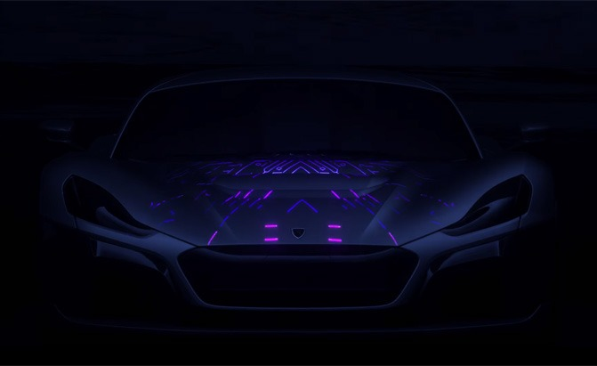 rimac concept two teaser video