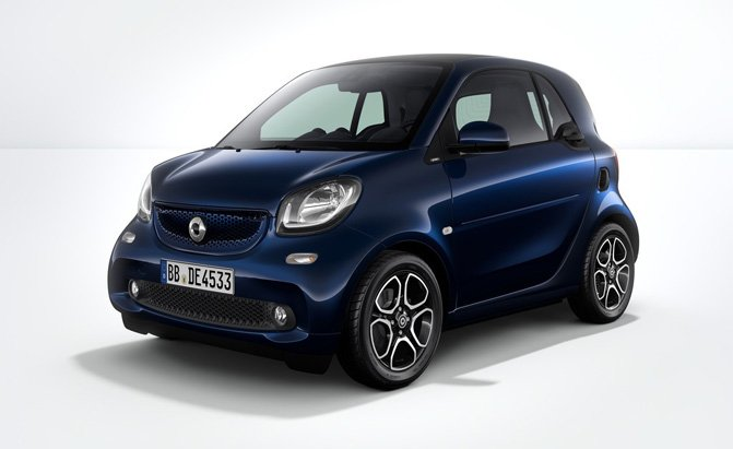 smart fortwo 10th anniversary edition