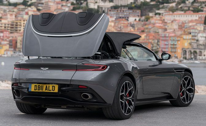 There's a Damn-Good Reason Why the Aston Martin DB11 Volante Has a Soft Top