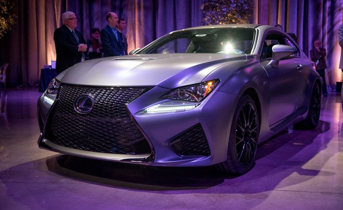 lexus F 10th anniversary special edition