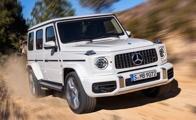 2019 Mercedes-AMG G63 Goes Off-Roading with 577 HP » AutoGuide com News