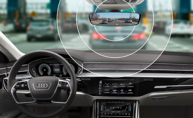 audi vehicle integrated toll technology