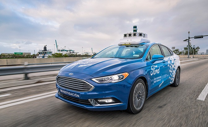ford self-driving cars miami florida