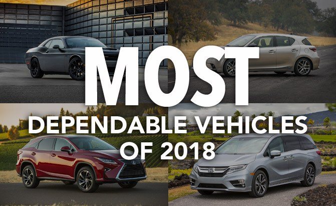 most dependable vehicles of 2018 jd power