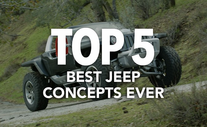 top 5 best jeep concepts ever