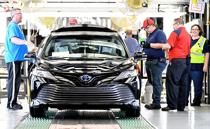 2018 Toyota Camry Recalled For Unusual Engine Issue