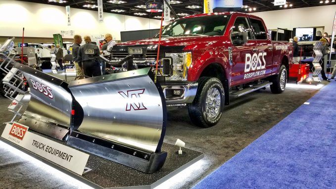 boss snowplows ford f-250 super duty