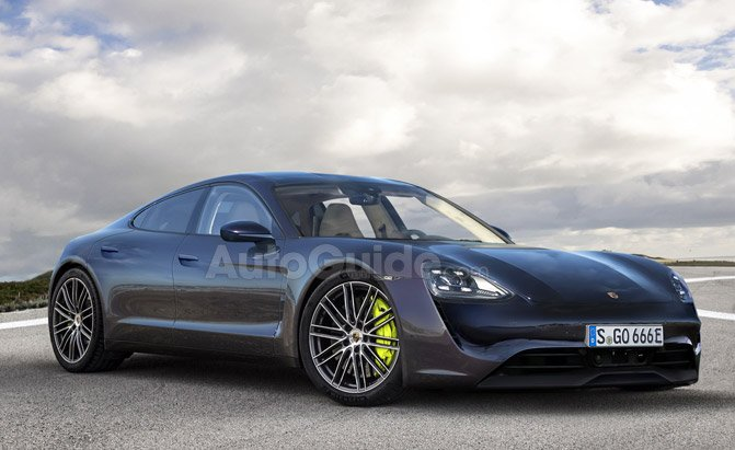 Render Gives The Best Look At Porsche S Upcoming Tesla Model Fighter