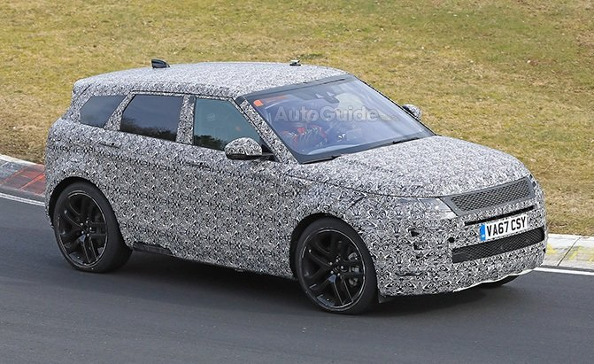 range rover evoque spy photos