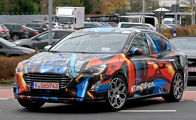 2019 ford focus spy photos