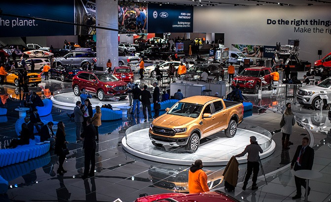 ford at the 2018 detroit auto show