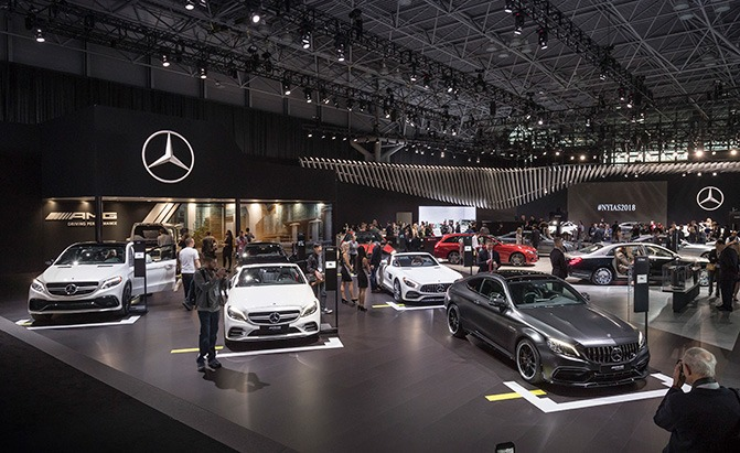 MercedesBenz Announces Its Subscription Service AutoGuidecom News - Mercedes car show 2018