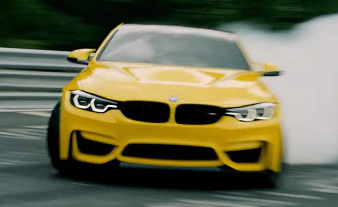 pennzoil bmw m4 cs video