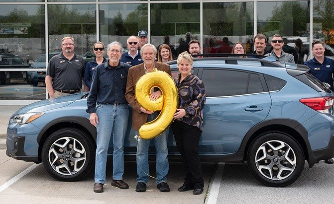 subaru nine millionth car