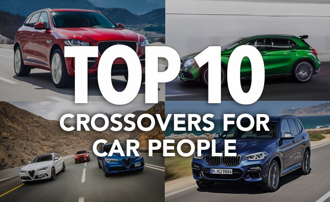 top 10 crossovers for car people