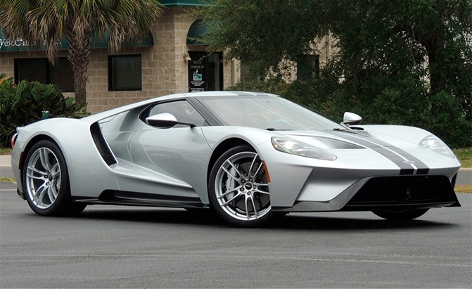 Heres A Rare Opportunity To Own A Practically Brand New Ford Gt