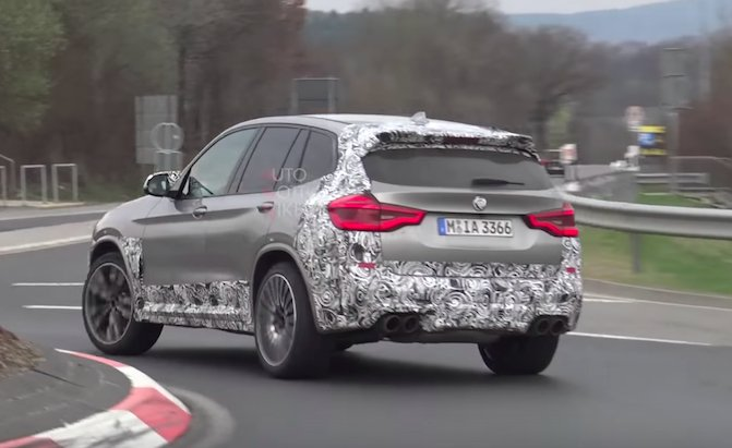 2019 BMW X3 M Looks Fast Sounds Great At The Ring AutoGuide News