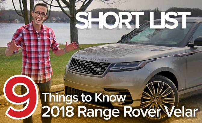 Nine Things to Know About the 2018 Range Rover Velar –