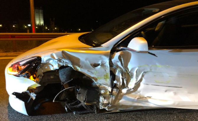 Tesla Model 3 Crashes In Greece Driver Says Autopilot Was Engaged