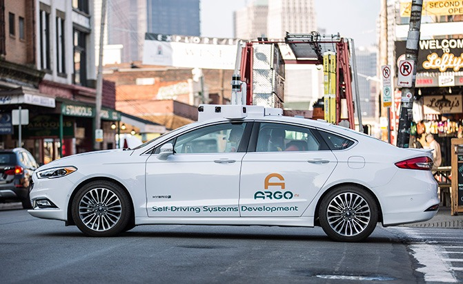 ford argo self-driving car