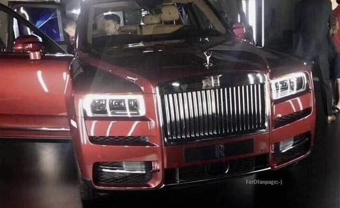rolls-royce cullinan leaked photo