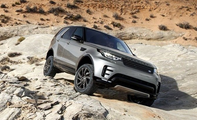 self-driving off-road land rover