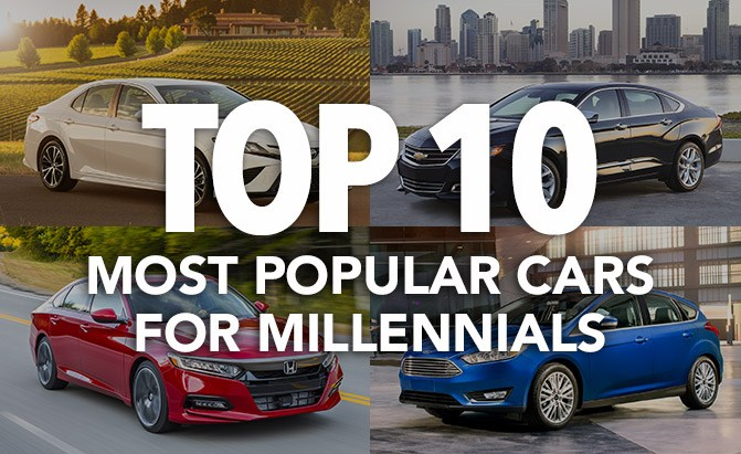 top 10 most popular cars for millennials