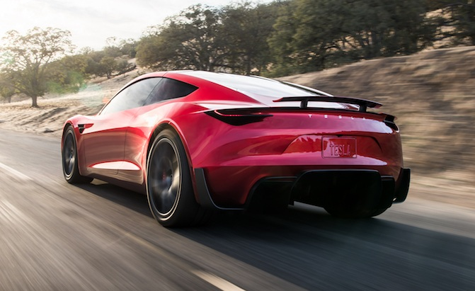 Tesla Is Working On A New Roadster Model That Said To Be The Quickest Car In World With Blazingly Fast Acceleration And High Price Tag Match