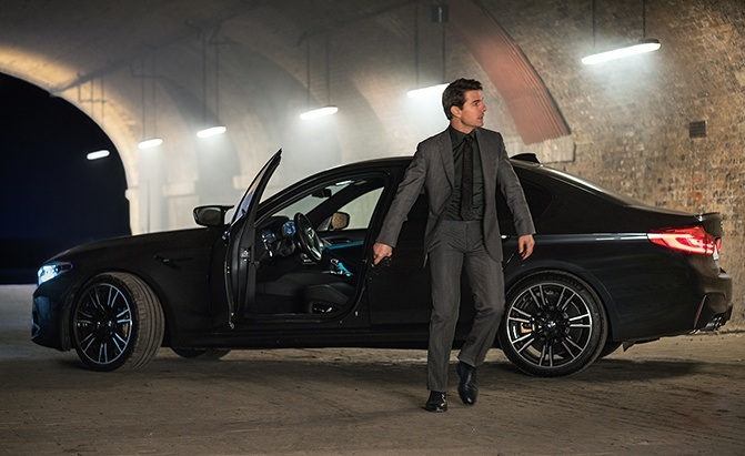 bmw mission impossible fallout