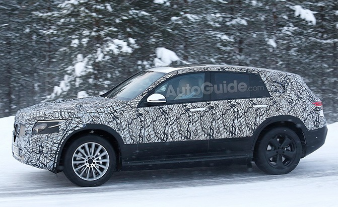 mercedes-benz eq c spy photos