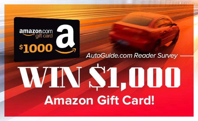 Take The 2018 Autoguide Reader Survey And Win A 1 000 Amazon Gift