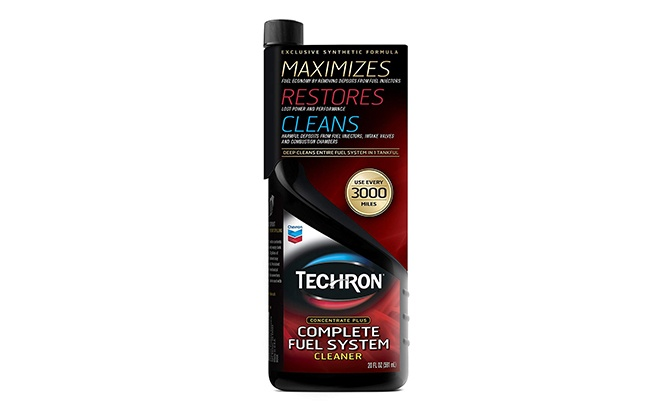 Techron fuel injector cleaner