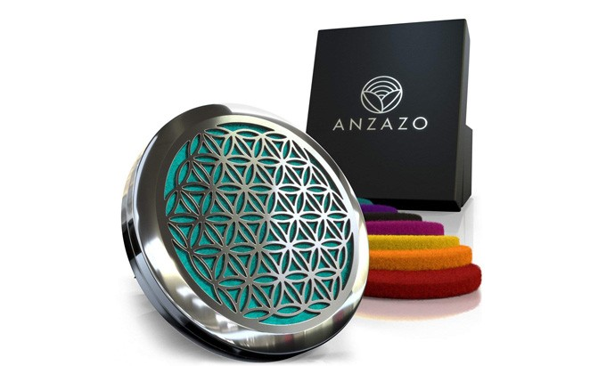 anzazo car essential oil diffuser