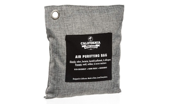 california home goods naturally activated bamboo air purifying bag