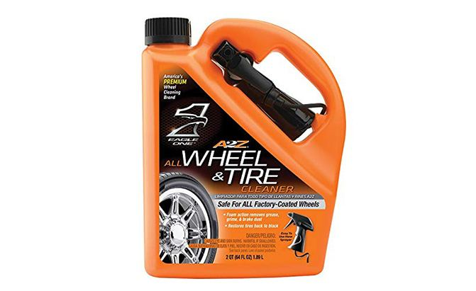 eagle one a-to-z wheel and tire cleaner
