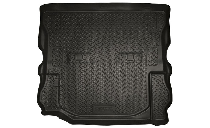 husky liners classic-style cargo liner