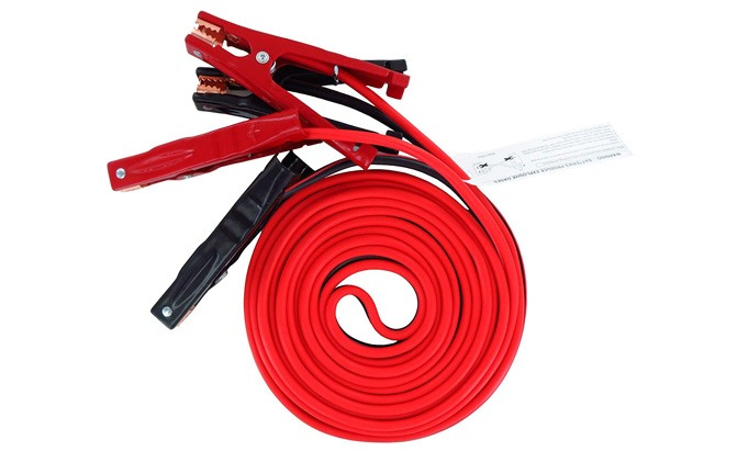 iron forge tools 20 foot jumper cables 4-gauge