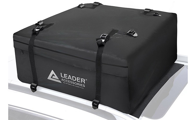 leader accessories rooftop cargo bag