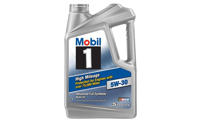 mobil 1 high mileage synthetic motor oil