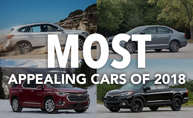 most appealing cars of 2018