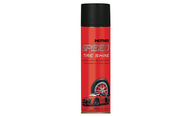 mothers speed tire shine