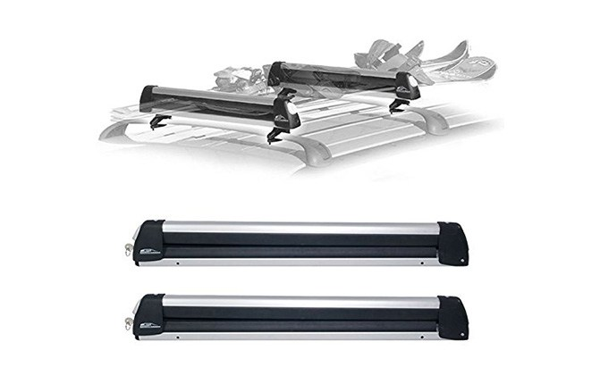 car racks rooftop snowrack plus ski rack