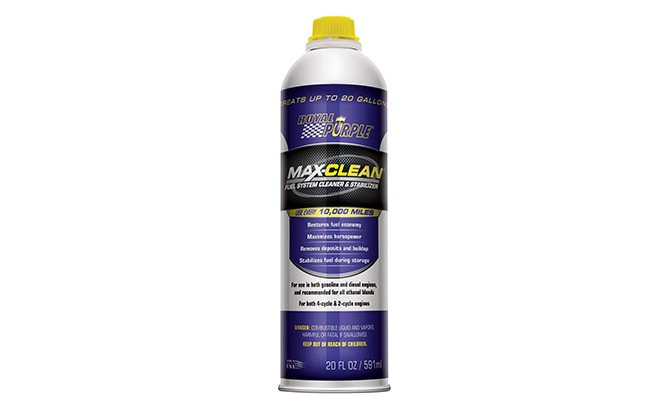 royal purple fuel injector cleaner