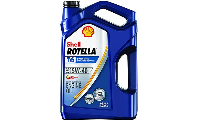 shell rotella synthetic diesel motor oil