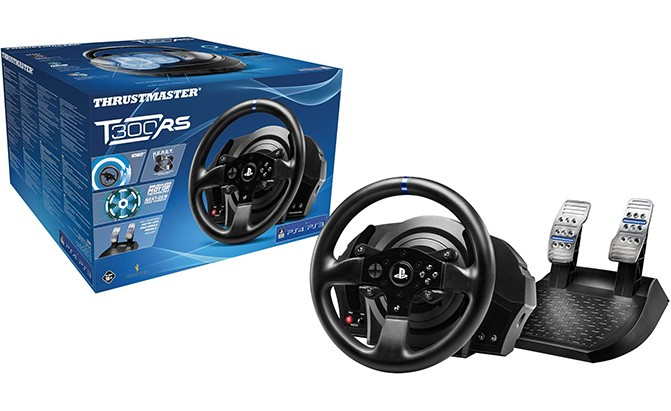 thrustmaster t300rs racing wheel