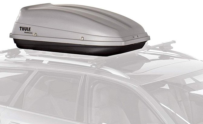 thule 682 sidekick rooftop cargo box